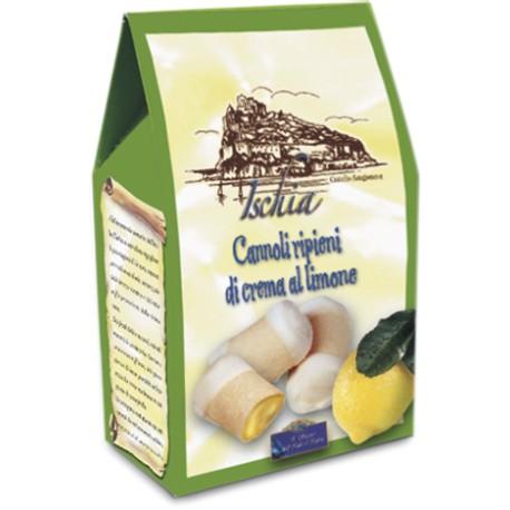 Cannoli ripieni Crema di Limone
